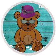 Baby Bear Collection Round Beach Towel
