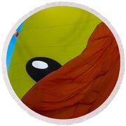 Balloon Fiesta Round Beach Towel