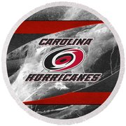 Carolina Hurricanes Round Beach Towel