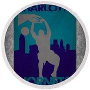 Charlotte Hornets Round Beach Towel