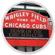Chicago Cubs - Wrigley Field Round Beach Towel