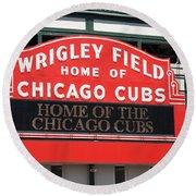 Chicago Cubs - Wrigley Field Round Beach Towel