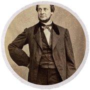 Clement Vallandigham (1820-1871) Round Beach Towel
