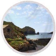 Cornwall - Mullion Cove Round Beach Towel