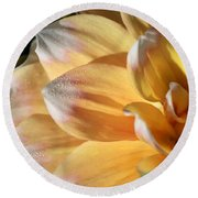 Dahlia Named Seattle Round Beach Towel