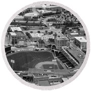 Fifth Third Field Toledo Ohio Round Beach Towel