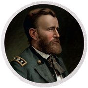 General Grant - Three Round Beach Towel