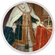 George II (1683-1760) Round Beach Towel