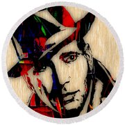 Humphrey Bogart Collection Round Beach Towel