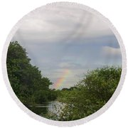 IImages From The Pantanal Round Beach Towel