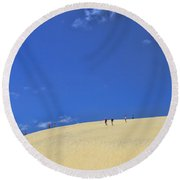 Jockey's Ridge State Park Round Beach Towel