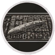 Led Zeppelin  Round Beach Towel