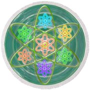 Mandala Is An Object It Is Your Spirit To Meditate And Be In Touch With Cosmic Forces That Matters Round Beach Towel