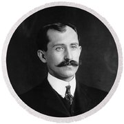 Orville Wright (1871-1948) Round Beach Towel