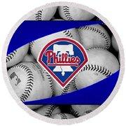 Philadelphia Phillies Round Beach Towel