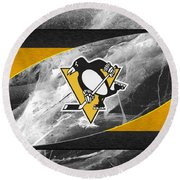 Pittsburgh Penguins Round Beach Towel