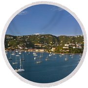 Saint Thomas Round Beach Towel