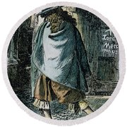 Samuel Pepys (1633-1703) Round Beach Towel