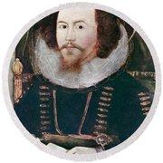 Sir Henry Unton (c1557-1596) Round Beach Towel