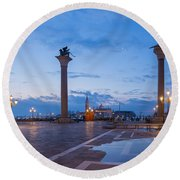 St Mark's Square Round Beach Towel