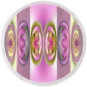 Star Elite Abstract Round Beach Towel