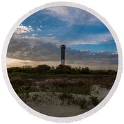 Lowcountry Character Round Beach Towel