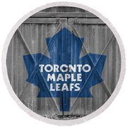 Toronto Maple Leafs Round Beach Towel