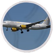 Vueling Airbus A320 Round Beach Towel