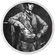 William Howe (1729-1814) Round Beach Towel