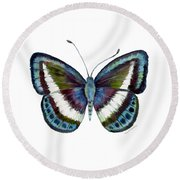 40 Danis Danis Butterfly Round Beach Towel