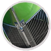 40 Ford - Grill Detail-8633 Round Beach Towel