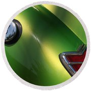 40 Ford - Tank N Tail Light-8527 Round Beach Towel