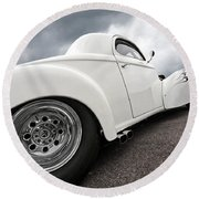 41 Willys Coupe Round Beach Towel
