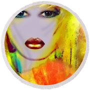 Arnolda Round Beach Towel