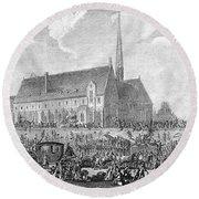 French Revolution, 1789 Round Beach Towel