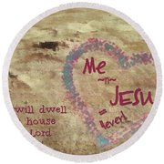 4ever Round Beach Towel