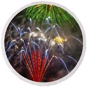 4th Of July Through The Lens Baby Round Beach Towel