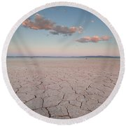 Alvord Desert, Oregon Round Beach Towel