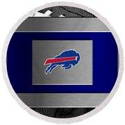 Buffalo Bills Round Beach Towel