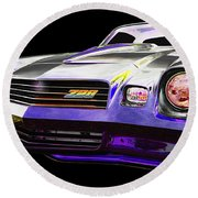 Chevy Round Beach Towel