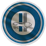 Detroit Lions Uniform Round Beach Towel