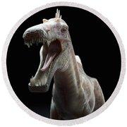 Dinosaur Suchomimus Round Beach Towel