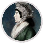 Dolley Madison (1768-1849) Round Beach Towel