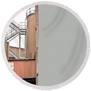 Factory Round Beach Towel