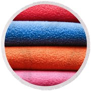 Fleece Round Beach Towel