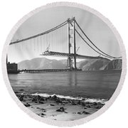 Golden Gate Bridge Round Beach Towel