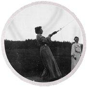 Mabel Hubbard Bell (1857-1923) Round Beach Towel