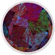 Magic Marbles Marvellous Colorful Pattern Spiral Sparkle Wonderland Kidsroom School Nursary Daycare  Round Beach Towel