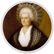 Martha Washington (1731-1802) Round Beach Towel