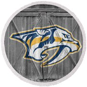 Nashville Predators Round Beach Towel